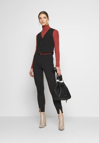 New Look - FITTED WAISTCOAT - Blouse - black - 1
