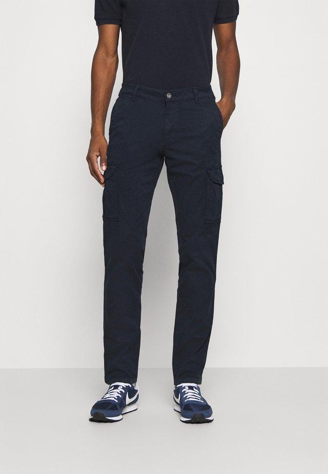 MOTO - Pantalones cargo - blu marine