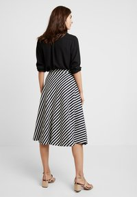 edc by Esprit - MIDI SKIRT - A-line skirt - navy - 2