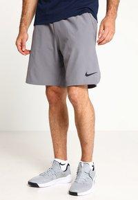 Nike Performance - SHORT - kurze Sporthose - gunsmoke/black - 0