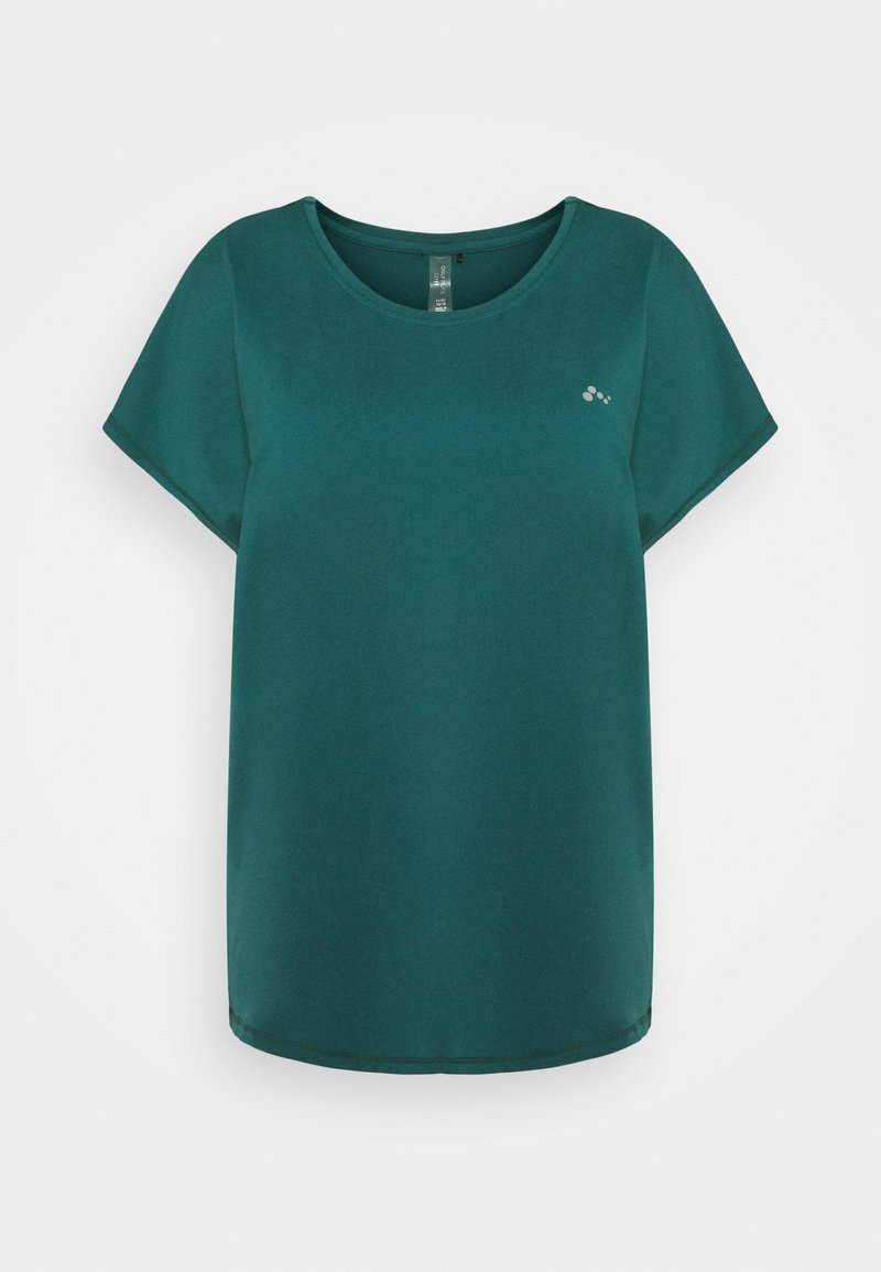 ONLY Play - LOOSE TRAINING TEE  - Print T-shirt - balsam