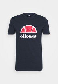 ALTERZI - Print T-shirt - navy