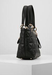 Guess - LAIKEN SMALL SATCHEL - Handbag - black - 3