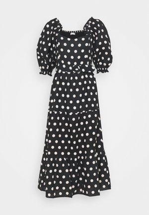 RUMI MIDI DRESS - Denní šaty - black