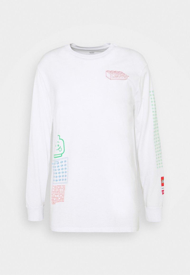 Levi's® - LS RELAXED FIT TEE UNISEX. - Långärmad tröja - white