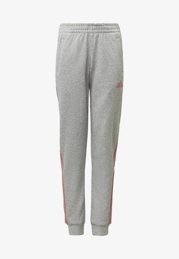 STRIPES TAPERED LEG TRACKSUIT BOTTOMS - Pantalones deportivos - grey