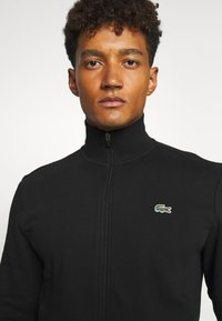 Lacoste Sport - CLASSIC JACKET - Zip-up hoodie - black - 5