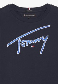 Tommy Hilfiger - SIGNATURE TEE - Long sleeved top - blue - 3