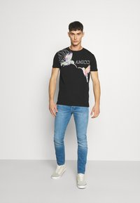 Jack & Jones - JJIGLENN JJFOX AGI  - Jeans Skinny Fit - blue denim - 1