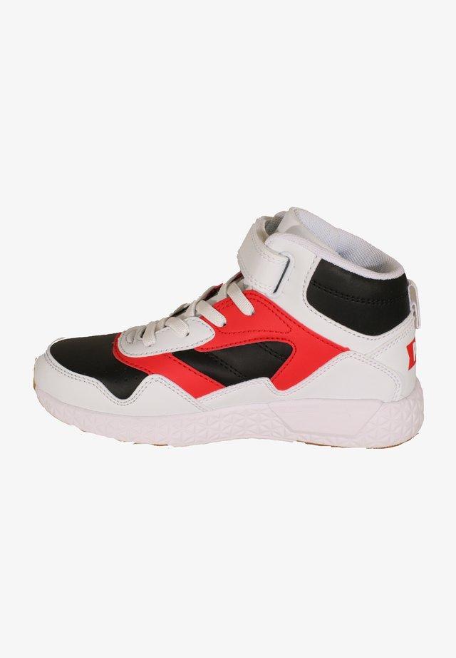Sneakers high - weiß