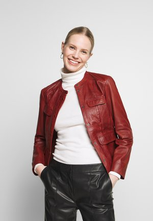 CATYA - Leather jacket - epices