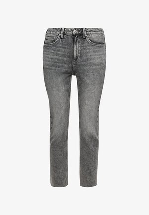 RELAXED: TAPERED - Slim fit jeans - grey