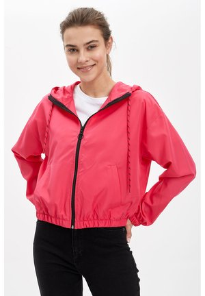 DEFACTO WOMAN LIGHT PINK - Zip-up hoodie - pink