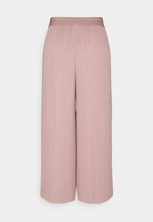 ONLMARIN PLISSE CULOTTE - Trousers - adobe rose