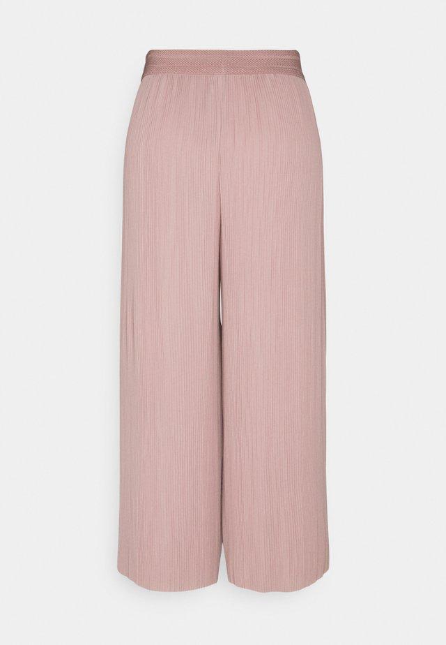 ONLMARIN PLISSE CULOTTE - Pantaloni - adobe rose