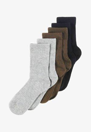 6-PACK  - Socks - grey melange