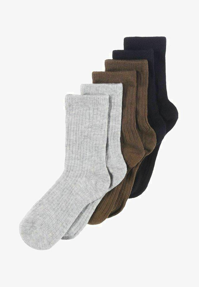 6-PACK  - Strømper - grey melange