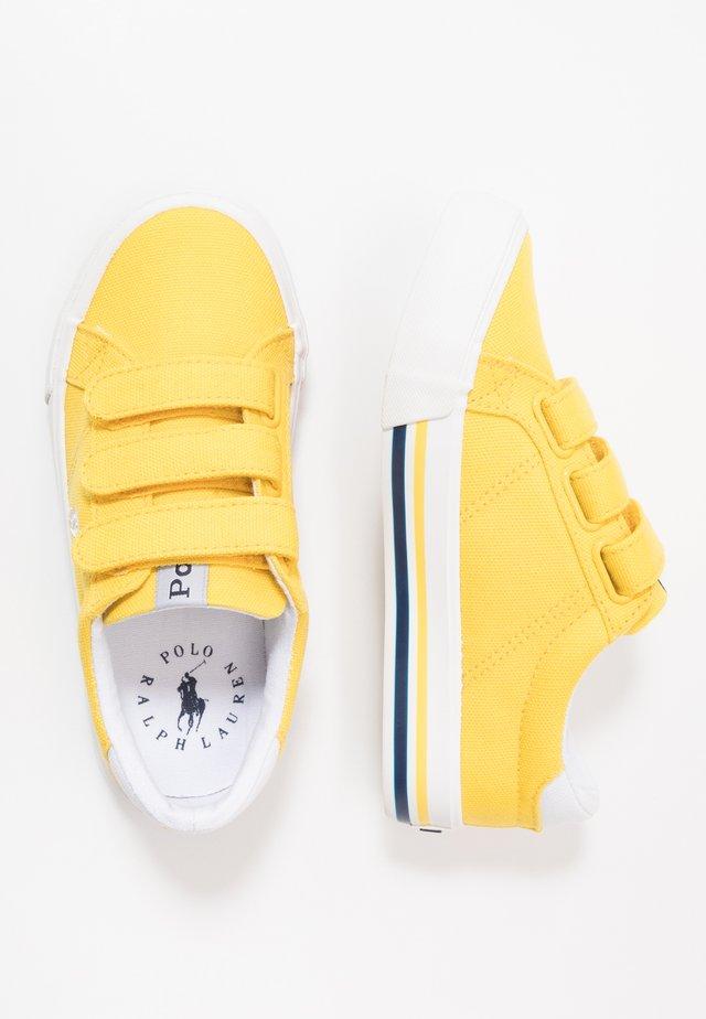 EVANSTON - Sneaker low - yellow/white