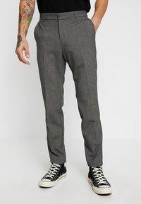 KIOMI - Suit trousers - mottled grey - 0