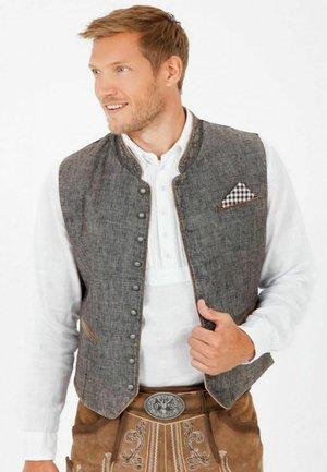 TRACHTEN, PLATZHIRSCH  - Suit waistcoat - grau