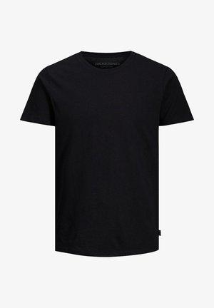 JJELINEN BASIC TEE SS CREW NECK STS - T-shirt basic - black