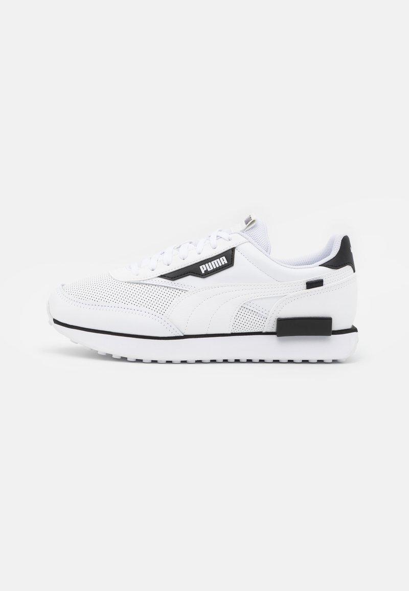 Puma - FUTURE RIDER CONTRAST UNISEX - Trainers - white/black