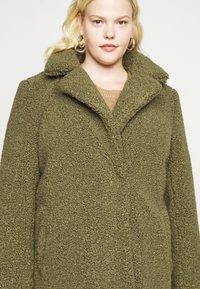 Noisy May Curve - NMGABI JACKET - Classic coat - kalamata - 6
