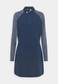 adidas Golf - LONG SLEEVE DRESS - Sports dress - crew navy - 1