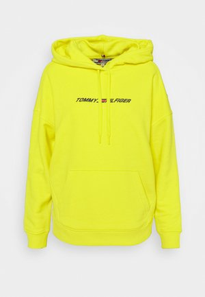 RELAXED GRAPHIC HOODIE - Huppari - yellow