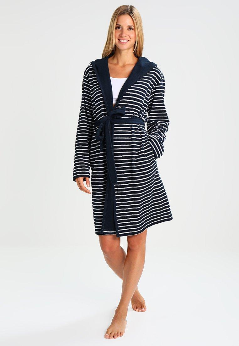Schiesser - Dressing gown - marine