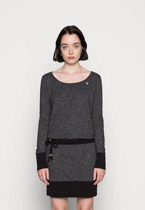 ALEXA - Jersey dress - black