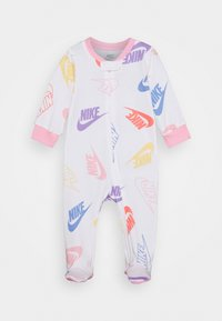 Nike Sportswear - FOOTED COVERALL - Pyjamas - white - 0