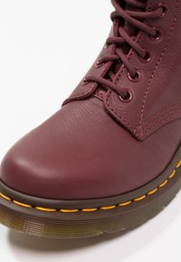 Dr. Martens - 1460 PASCAL 8 EYE BOOT  - Lace-up ankle boots - cherry red - 6