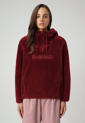 TEIDE - Fleece jumper - vint amaranth