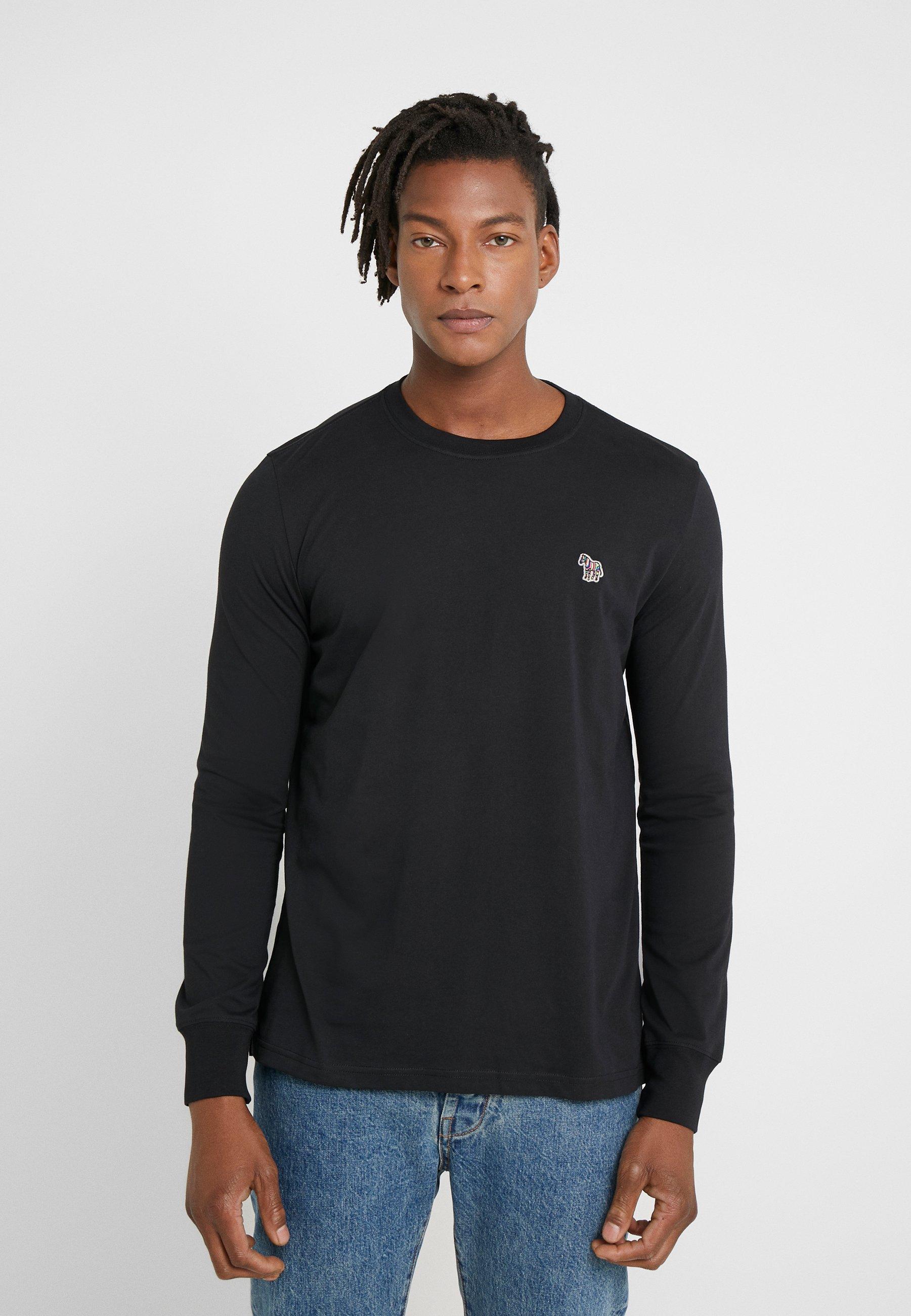 Herrer ZEBRA - Langærmede T-shirts