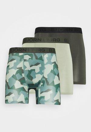 NORDIC CAMO 3 PACK - Underkläder - duck green