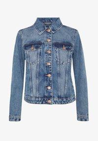 Pieces - PCLOU JACKET - Denim jacket - light blue denim - 4