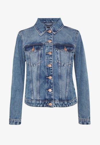 PCLOU JACKET - Giacca di jeans - light blue denim