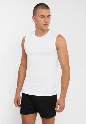 CREW NECK TANK 2 PACK - Undershirt - white