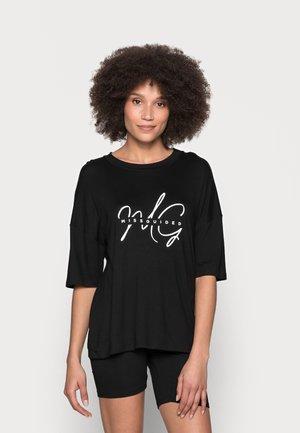 SPLICE CYCLING SHORT PJ - Pyjamas - black