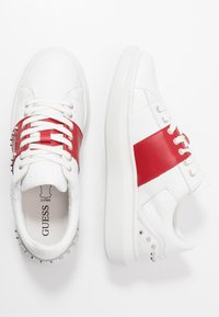 Guess - KEAN - Sneakers - white/red - 1