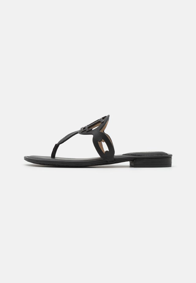 AUDRIE - Teensandalen - black