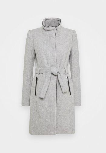ONLMICHIGAN COAT - Klasický kabát - light grey melange