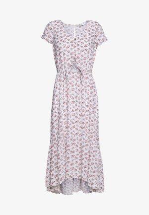 PRETTY MIDI DRESS - Shirt dress - white