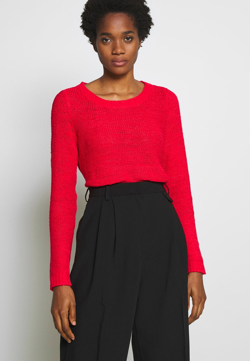 ONLY - ONLGEENA - Pullover - high risk red