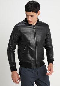 Serge Pariente - BONBON - Leather jacket - black - 3