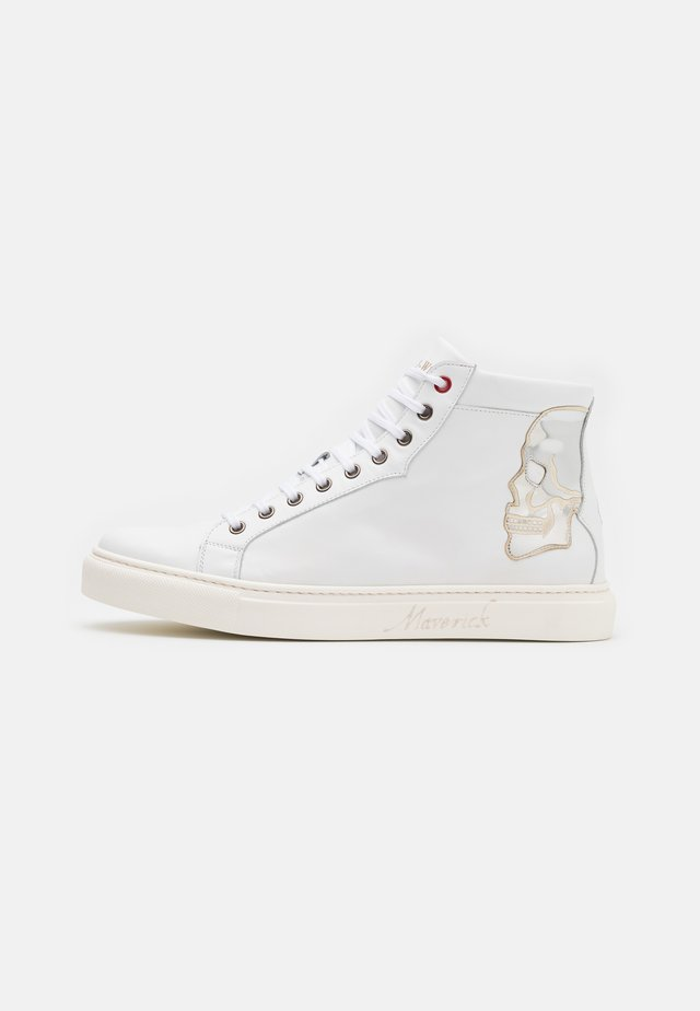 SKULL - Sneakers alte - white