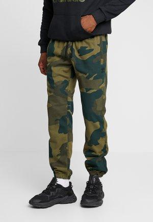 CAMO TREFOIL GRAPHIC SPORT PANTS - Verryttelyhousut - multicolor
