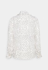 Sister Jane - GET TOGETHER RUFFLE BOW BLOUSE - Button-down blouse - ivory - 7