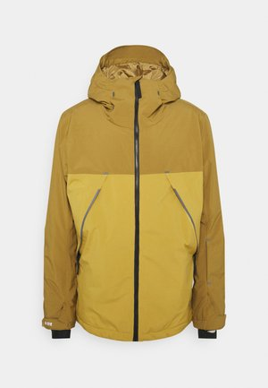 EXPEDITION - Snowboard jacket - mustard gold